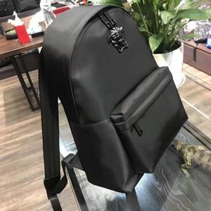 Moda tasarımcısı çanta 2019 yeni trend Medusa başı erkek omuz çantaları güzellik gündelik çift okul, net çanta kırmızı packbags