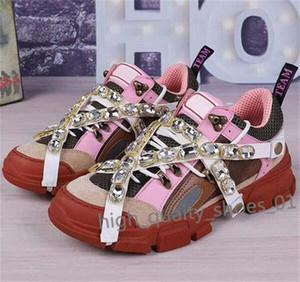 Nuovi FlashTrek progettista della scarpa da tennis con rimovibile Xshfbcl lusso del Mens scarpe di moda casual di lusso Designer Womens Shoes Sneakers 10 hococal