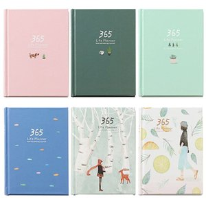 365 Tage Personal Diary Planer Hardcover Notizbuch-Tagebuch 2019 Office-Wochenplan