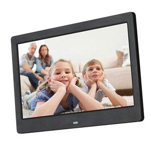 10-дюймовый экран LED Backlight HD Digital Photo Frame Electronic Album Photo Film Music Полнофункциональный хороший подарок