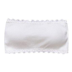 Sexy Summer Women Women Bandeau Bra Seamless Crop Tube Top Strapless Brarette Basic Layering Tank Seamless Padded Underwear L503