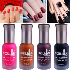 12 мл / 18 мл матовый тусклый лак для ногтей быстро сухой длительный Nail Art матовый польский гель профессиональный Nail Art