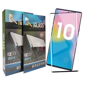 Дело Дружественные 3D изогнутый край Клей закаленное стекло для Samsung S8 S9 S10 S20 Plus Ultra Note8 Note9 Note10 Mate30 Mate20 P30 Pro
