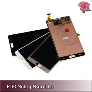 Für Samsung Galaxy Note4 LCD Für Samsung Galaxy Note 4 LCD-Anzeige N9100 + Touchscreen Digitizer Assembly