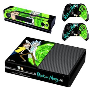 Rick and Morty Skin Xboxone Sticker vinilo adesivo pegatina stickers for Xbox One Console & Kinect & Two Controller Skins