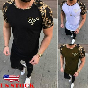 Marque de vêtements 3 couleurs O cou T-shirt pour hommes Mode T-shirts Casual Fitness Pour Hommes Styliste T-shirts manches courtes Top