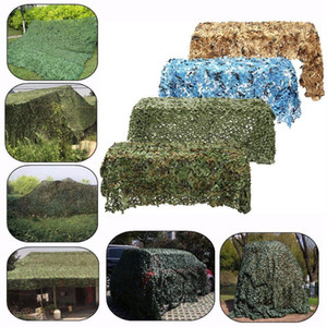 Camping Sun Shelter Car Covers Tent Army training Woodland Camouflage Camo Army Net Hide Netting Military Hunting Shelter Hot