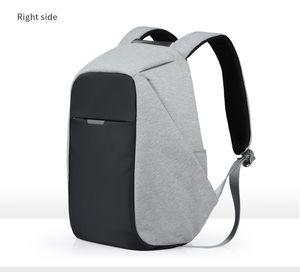 Mixi Unisex Sırt Çantası Erkek Kadın Okul Çantası Erkek Kız Satchel 15.6 Laptop Sırt Çantası USB Şarj 2019 Eğilim Moda 17 18 Inç M5510