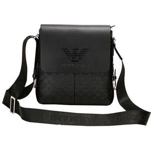 Sac bandoulière en cuir noir Hommes écharpe PU Sholder Sacs à bandoulière Messenger Ceinture Hommes Sacs à main d'épaule pour ordinateur portable