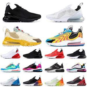 nike air max 270 travis scott New Mens Womens Running Shoes Triple Bianco Nero Hyper Grape Navy Tea Berry Tiger Donne Sneaker Sneakers Sportive Scarpe Taglia 36-45
