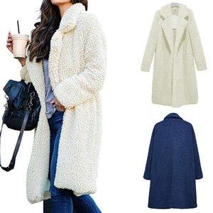 Autumn Apparel Fashion Women Long Cardigan Jackets Womens Casual Trench Coats Warm Outwear Female Clothe Asian S-3XL