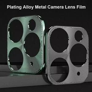 Para iPhone 11 Pro Max Voltar Camera Case Capa para iphone 11 Pro Camera Protector metal Rear Lens Anel para o iPhone 11 lente da câmera