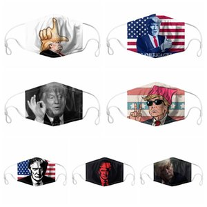 2020 Trump Face Masks For Adults Childrens American President ELection Support Masks Dust-proof Washable Reusable Designer Mask IIA219