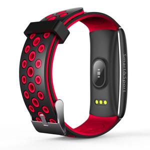 Q8S Akıllı Bilezik Nabız Tansiyon Kan Oksijen Akıllı İzle Spor Tracker Su geçirmez Spor Kol Saati İçin IOS Android