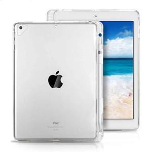 Effacer pour iPad pro 11 2020 10.2 air mini 2 3 4 5 d'Apple Crayon fente souple TPU transparent couverture anti-choc