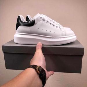El mejor zapato para mujer para hombre de Qulity Chaussures Hermosa zapatillas de deporte ocasionales de la plataforma de lujo Los diseñadores de zapatos de cuero de los colores sólidos Zapato de vestir