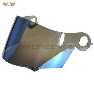 Protetor Capacete azul da motocicleta Visor Lente Full Face para Máscara SUOMY Spec 1R Spec-1R extrema Apex Visor