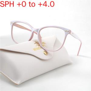 Los lectores de marco para mujer de los vidrios de lectura de cristal grande por completo de lectura Gafas presbicia Hombres Gafas de 0,5 a 4,0 NX