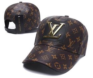 2020 Good Design L uxury Frauen Männer Marke beiläufige Kappe Beliebte Paare Baseballbaseballmütze Avantgarde Patchwork Mode Hip Hop-Kappe