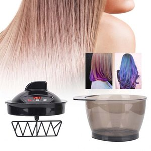 صبغ الشعر لون الشمع Usb Professional صبغ الشعر تلوين الشعر كهربائي خلاط Hairs Color Mixing Bowl بنا A SH190729
