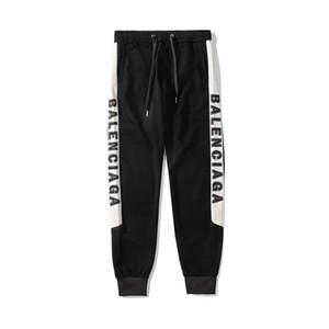2019 дизайнер мужские женские брюки весна осень осень мода спортивные брюки полная длина боковой буквы вышивки свободный размер высокое качество EAR98165