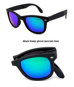 moda Güneş gözlüğü Klasik Katlama güneş gözlüğü yepyeni Sun womens Güneş gözlüğü Katlanabilir kaliteli Boxs ile bağbozumu erkek gözlük gözlük