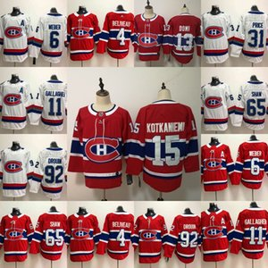 2020 13 Max Domi 15 Jesperi Kotkaniemi New Montreal Canadiens 11 Brendan Gallagher 31 캐리 가격 6 Shea Weber shaw Tomas Jerseys
