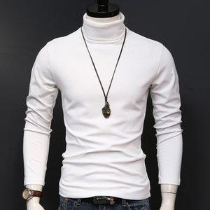 Tight Shirt Men Mens Tshirts Long T Shirts Man Slim T Tshirt Sleeve Winter Thermal T-shirt Tops Fashion T-shirts Clothing Aflfn