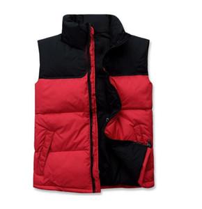 Мужской дизайнерский жилет северная зима мужская пуховая куртка фугу повседневная Марка толстовки вниз парки теплые Лыжные мужские лица жилет