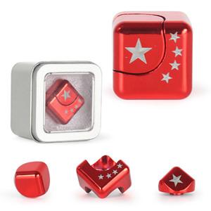 Magia Fidget Spinner Finger alleviare lo stress Giocattoli staccabile mano Spinner in lega di zinco Magic Cube Top Gyro Giocattoli EDC Ins