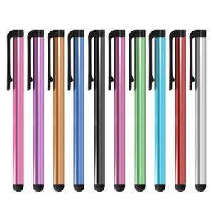 1000pcs / lot Evrensel Kapasitif Stylus Kalem Dokunmatik Ekran Samsung Note 10 Artı S10 akıllı telefon Tablet PC için 7.0 Suit Kalemler