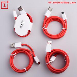 OnePlus Dash Tipo C cavo USB 3.1 veloce veloce ricarica cavo di 1m / 1.5m / 2m / 3m OnePlus Ordito Charge 5V6A Type-C cavo
