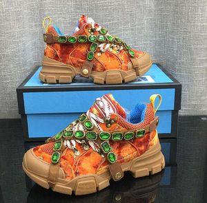 Çıkarılabilir Kristalleriyle FlashTrek Sneakers, Dağ Boots ve net rahat ayakkabı Kadınlar Yürüyüş Ayakkabı Çok renkli G1 dış taban Deri