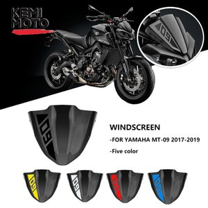 rames & Fittings Windscreens & Wind Deflectors For Yamaha MT 09 MT09 Windshield Windscreen 2017 2018 2019 Motorcycle Accessories ...