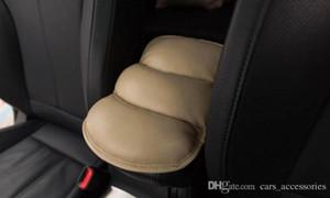 SUV Car Seat bracciolo Cuscino di alta qualità cuscino in pelle Central Storage Console Soft Cover Car Interior Accessori EEA33
