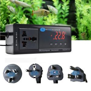 Digital LCD Aquarium Reptile Incubator Temperature Thermostat Controller 4 Plug