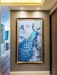 Aster Novi-belgii Purple DD Chrysanthemum DIY Wall Stickers Living Room TV Sofa Backdrop Decor Mural Decal Wallpapers