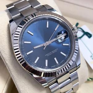 41mm Asia 2813 mens de la manera mujeres automáticas Datejust Movimiento mecánicos GMT reloj de lujo de diseño Relojes de pulsera Relojes casuales cajas 2020