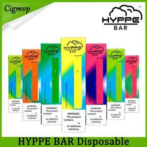 HYPPE BAR Tek Cihaz Pod Seti 280mAh Pil 1.3ml Kartuşları Karşıtı Kaçak Vape Kalem VS Puff Hyde