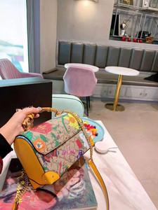 2020 Новые цветы бамбука плеча Ковш Сумки Склон Woman рюкзак Женские Across неподдельной кожи женщин Кошельки дизайнер сумки