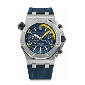 u1 нового высокого качества кварцевые часы Для мужчин часы Top Красочные часы каучуковый ремешок Спорт VK хронограф WristWatch