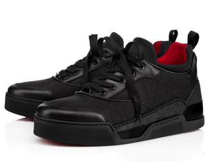 Alta Qualidade AURELIEN Red Shoes fundo para moda masculina hococal sapatilha Calçados Esportivos Plano AURELIEN sapatilhas aniversário GiftC03 casamento