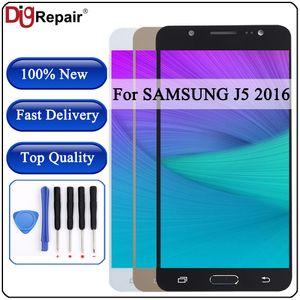 J510fn lcd para SAMSUNG Galaxy J5 2016 lcd J510 J510F J510M J510FN Pantalla Pantalla táctil Digitalizador J510 Para Galaxy J5 2016
