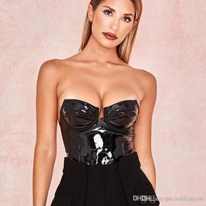 여성 섹시한 순수한 컬러 점프 슈트 패션 디자이너 패널로 여성 끈이 장난 꾸러기 캐주얼 슬림 여성 등이없는 의류