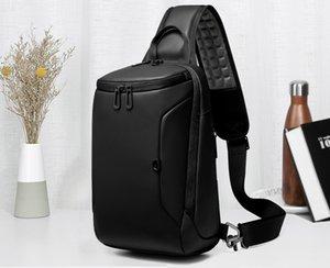 """EURCOOL 2019 NEW Crossbody сумка для 9,7"""" IPad Коротких поездок Chest сумка USB зарядной Водоотталкивающей Плечо Сумка Мужской n1911"""