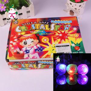 Soft Safe CRYSTAL STAR jouet lumineux CRYSTALSTAR LED accessoires pour collier porte-clés pendentif approvisionnement de Noël