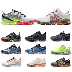 TN plus CPFM X VPM 2019 Chaussures de course Gris Noir Or Bleu Mutil CNY Hommes Femmes entraîneur d'athlétisme de sport Chaussures de sport SZIE 5,5-11