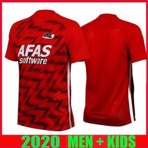 20-21 AZ Alkmaar fútbol casero Jersey 2020 2021 DE WIT Stengs Boadu camiseta de fútbol AZ Alkmaar camiseta de Fútbol maillot de pie camisa