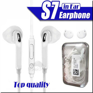 Auricolari per il bordo S7 S6 Galaxy cuffie di alta qualità In Ear Headset con il Mic controllo del volume per 5/6 Cellulare