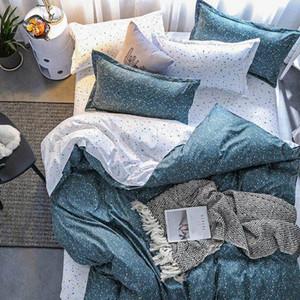 Starry Sky 4pcs menina Kid Boy Bed Cover Set Duvet Cover Adulto Criança lençóis e fronhas Consolador Bedding Set 2TJ-61017